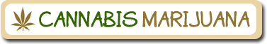 logo of cannabis marijuana
